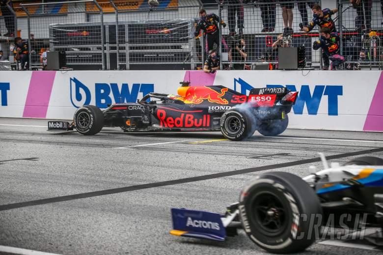 Max Verstappen Menganggap perayaan Burnoutnya Aman