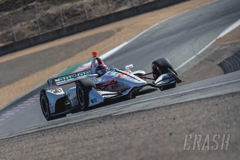 Colton Herta tak tertandingi di Laguna Seca untuk tiang GP Firestone