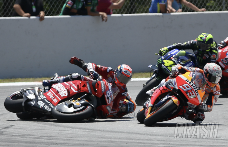 Marc Marquez, crash