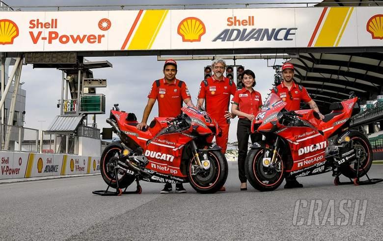 Shell, Ducati memperpanjang kemitraan selama 20 tahun