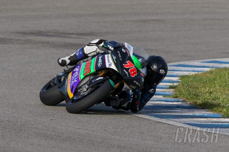 Hikari Okubo completes first of three days testing in Jerez