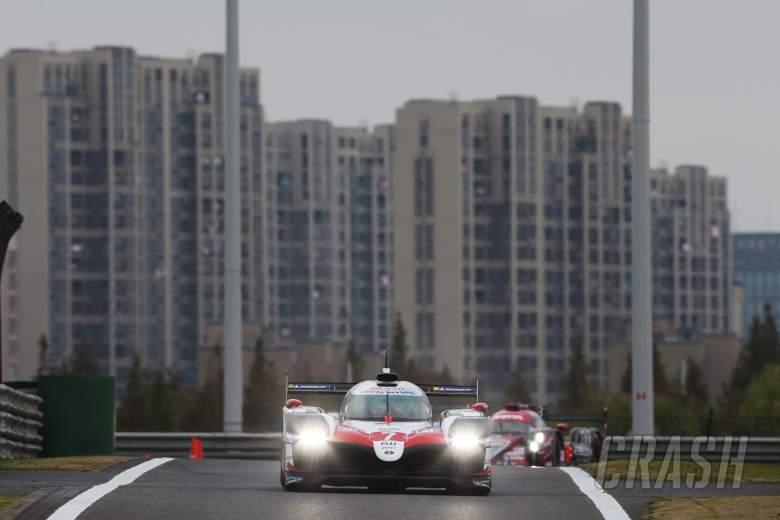 Toyota takes WEC Shanghai 1-2 as rain, red flags dominate
