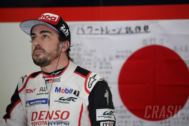 Alonso digantikan oleh Hartley di Toyota selama 19/20 musim WEC