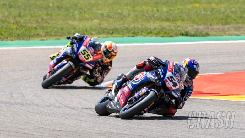 Toprak Razgatlioglu fastest for Pata Yamaha on day-one in Aragon