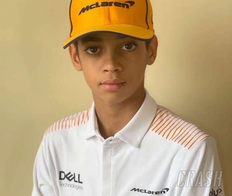 McLaren F1 team signs 13-year-old karting revelation