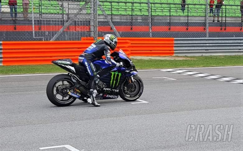 Vinales, Rossi try Yamaha holeshot device at Sepang