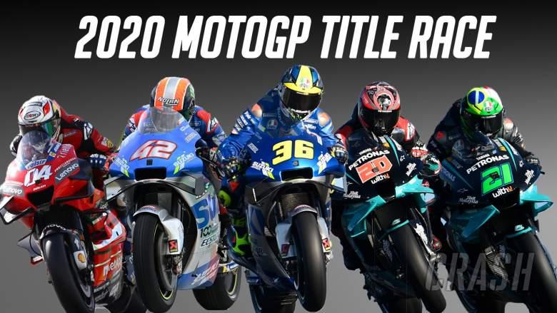 2020 MotoGP season visualiser