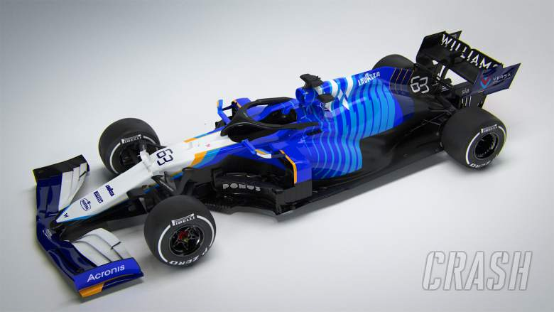 Williams unveils retro-inspired livery as it launches 2021 F1 car