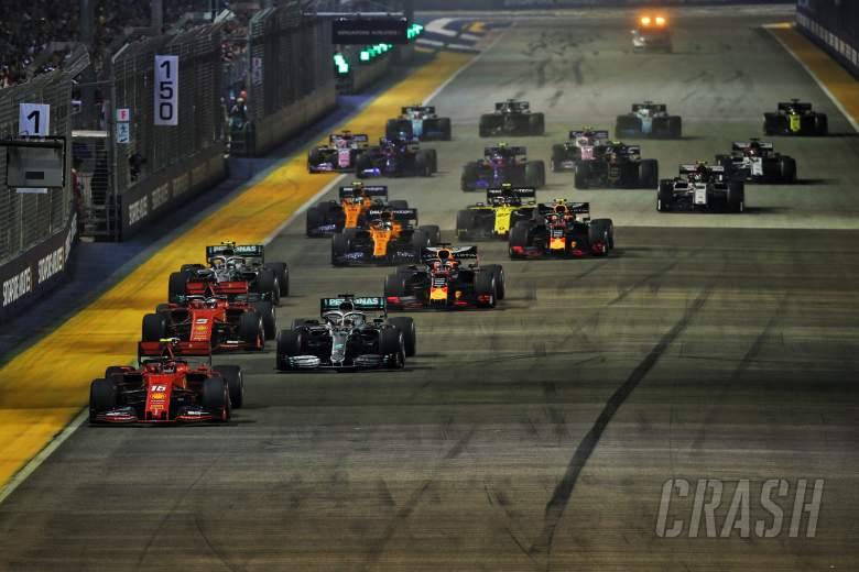 F1 confirms session times for 2020 calendar