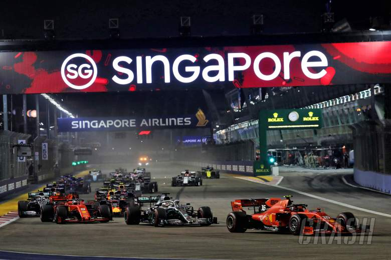 Singapore GP in doubt but talks continue with F1