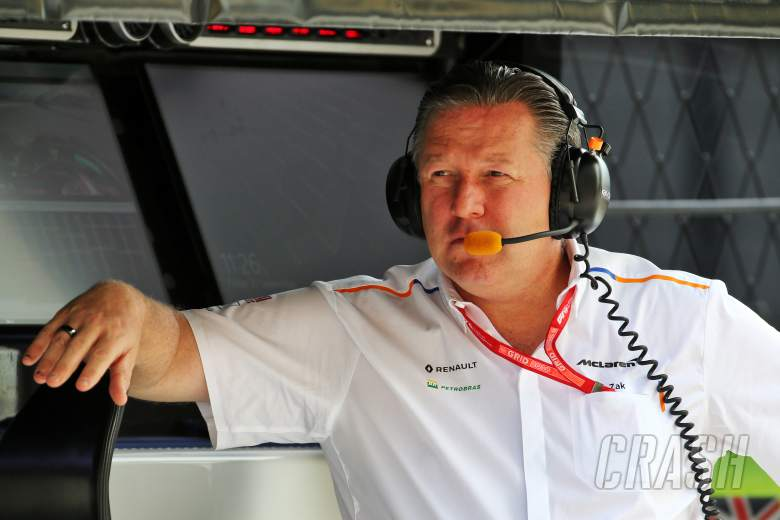 """Brown doesn't expect McLaren to replicate """"huge step"""" in 2020"""