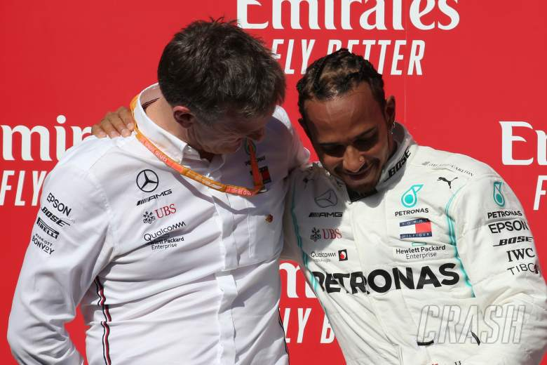 "Hamilton's ""unblemished"" F1 record sets him apart - Allison"