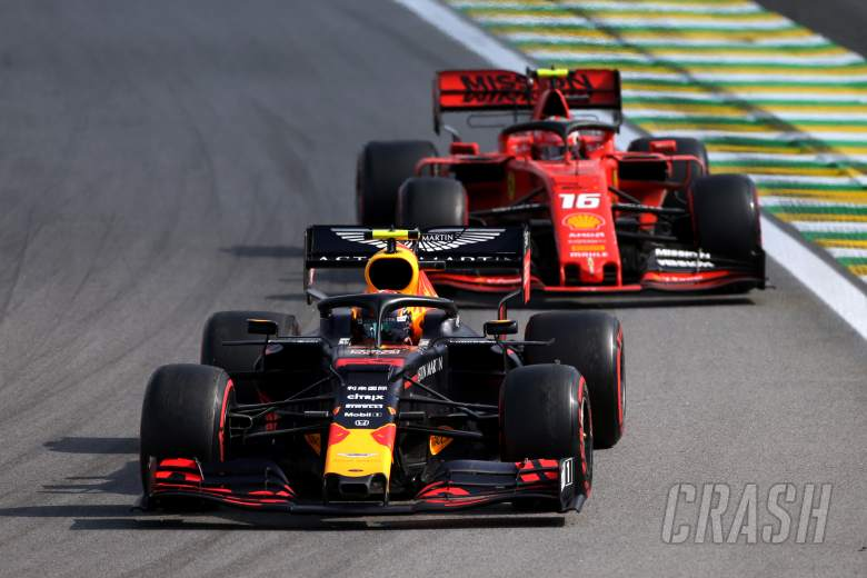 Albon ends Leclerc's winning run in thrilling F1 Virtual GP