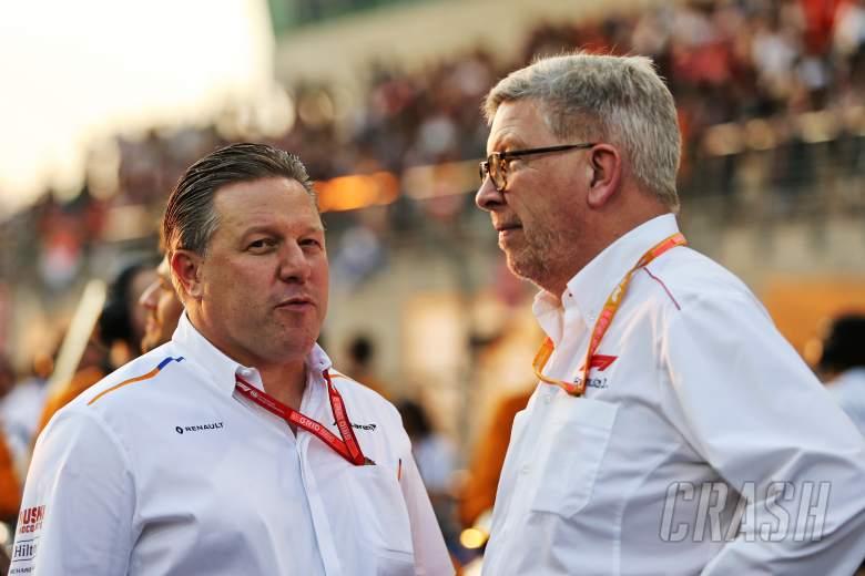 Ross Brawn, F1, Zak Brown, McLaren,