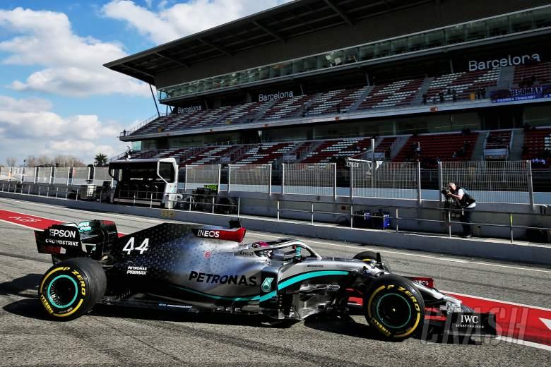 Lewis Hamilton, F1, Circuit de Catalunya-Barcelona, testing