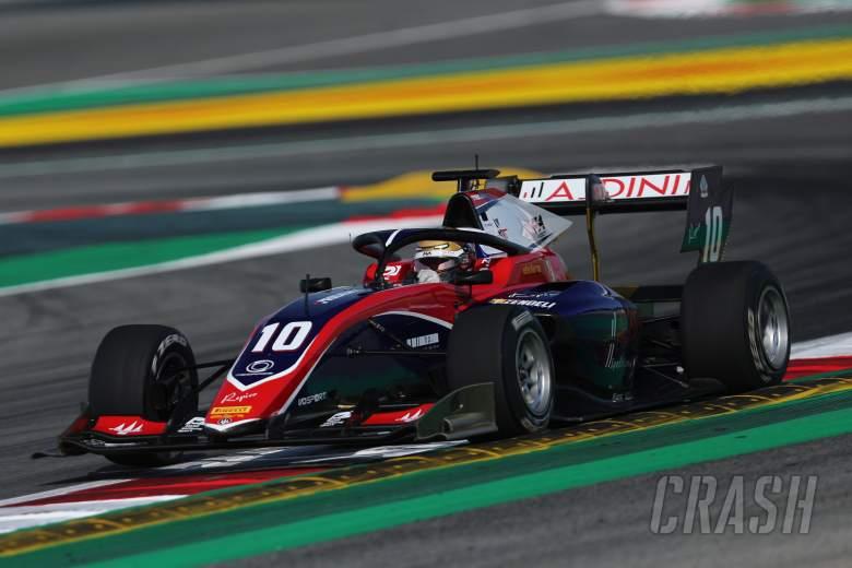 Zendeli takes advantage of red flag and rain to claim F3 Belgium pole