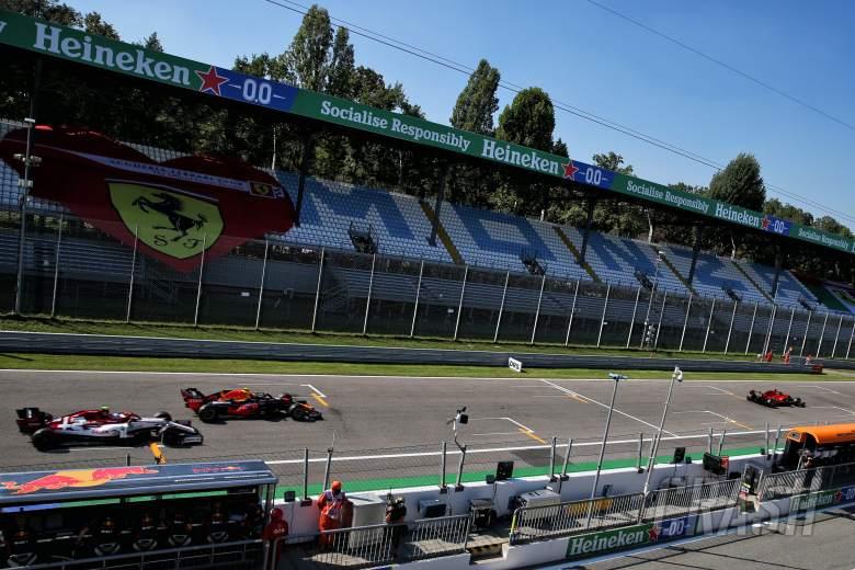 F1 Italian Grand Prix 2020 - Qualifying Results
