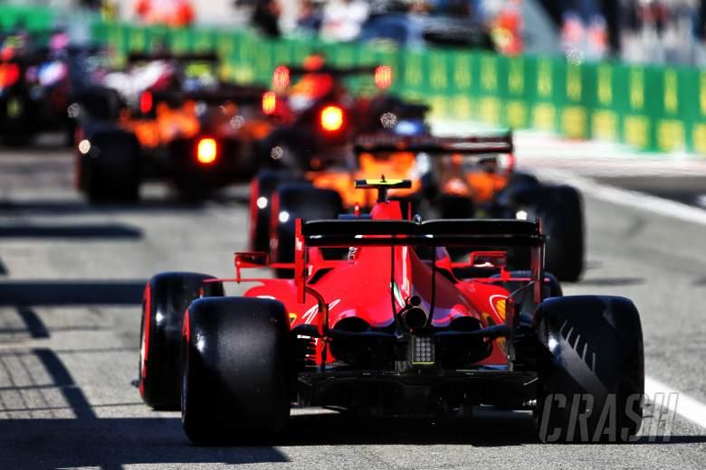 F1 Italian Grand Prix 2020 - Starting Grid