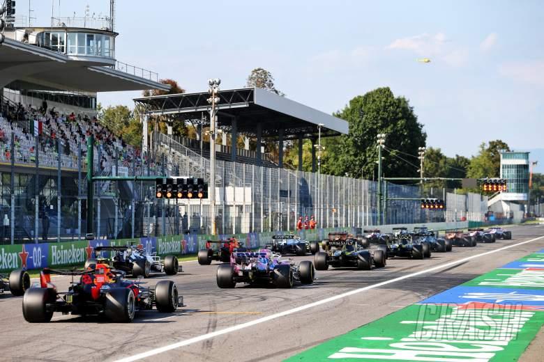 Jadwal Lengkap dan Panduan TV - Balapan F1 GP Italia