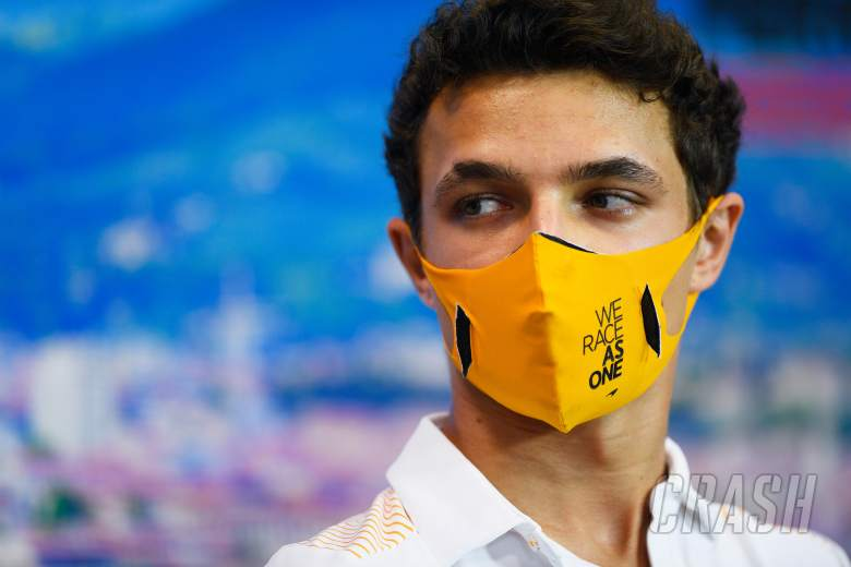 Lando Norris opens up about mental health struggles in debut F1 season