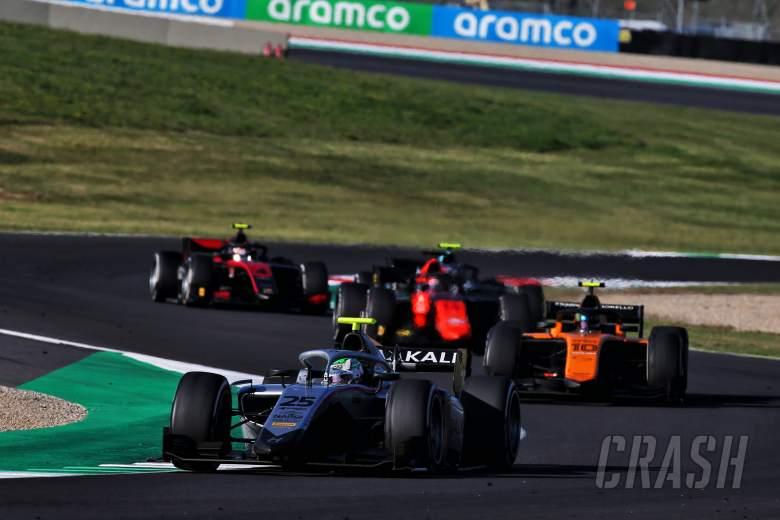FIA F2 Tuscany - Sprint Race Results
