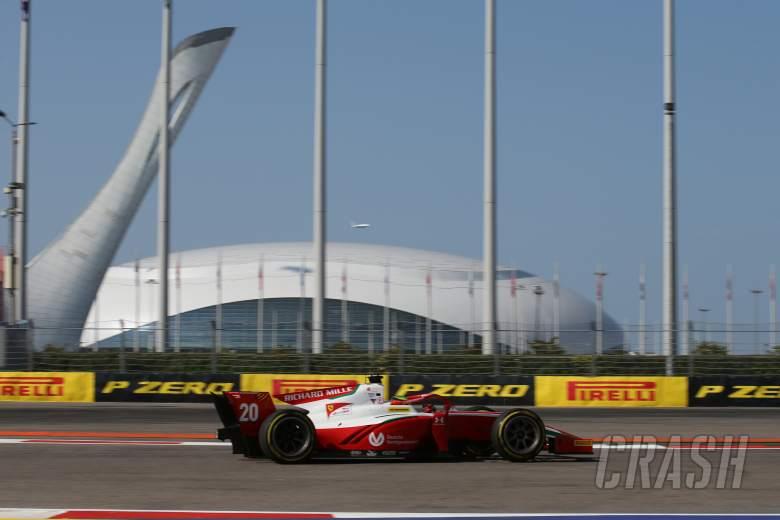 FIA Formula 2 2020 - Russia - Full Qualifying Results
