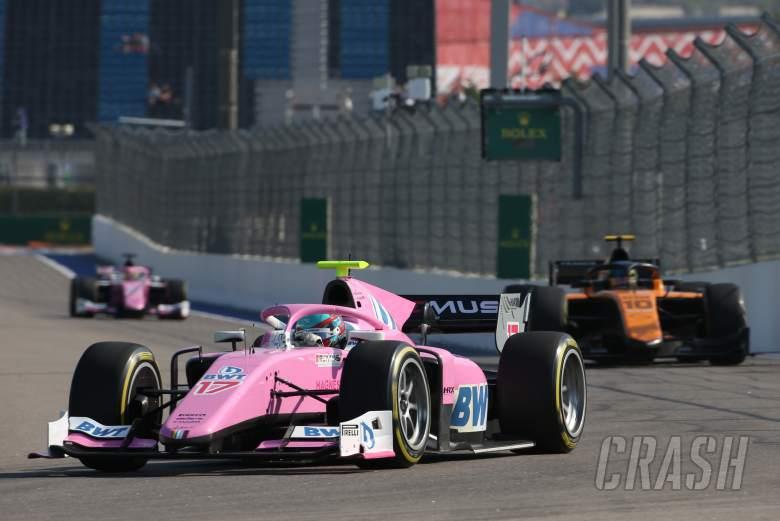 FIA Formula 2 2020 - Hasil Feature Race F2 Rusia di Sochi