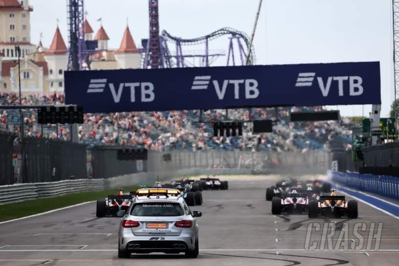 FIA Formula 2 2020 - Russia - Full Sprint Race Results