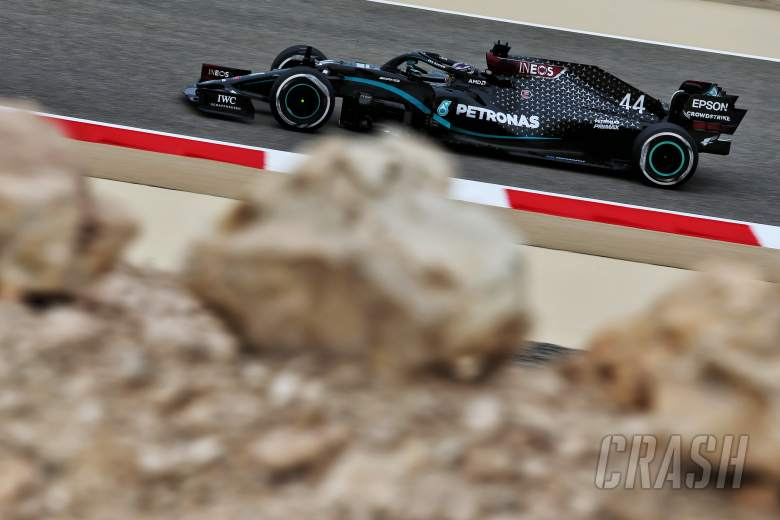 Who is driving when during Bahrain's F1 pre-season test?