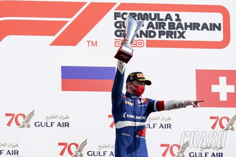 Ferrari F1 junior Shwartzman to remain with Prema for 2021 F2 season