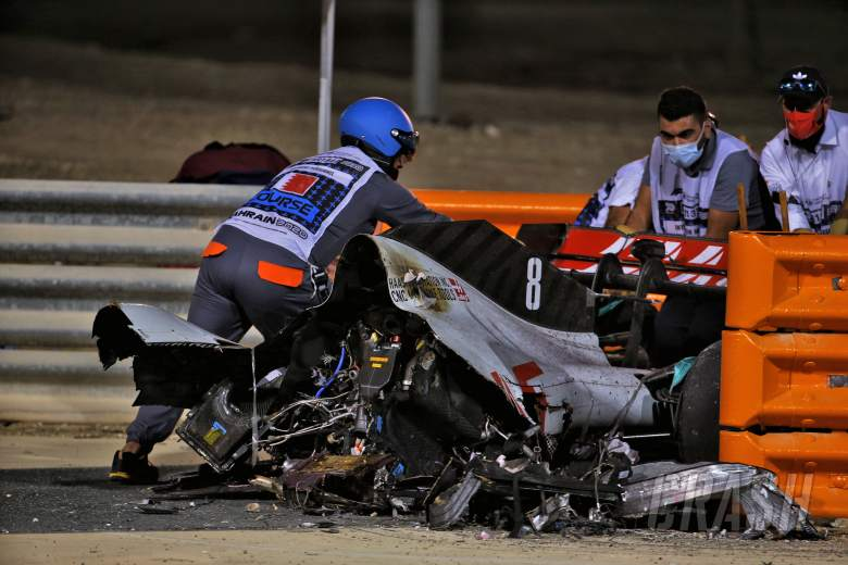 Grosjean's Bahrain F1 crash registered 67G as findings revealed