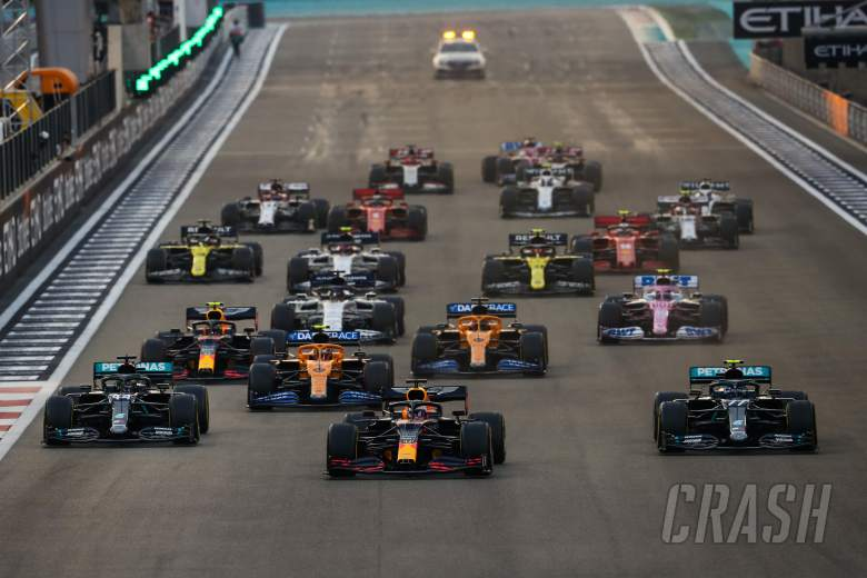 Layout Sirkuit Yas Marina Dirombak untuk F1 GP Abu Dhabi 2021