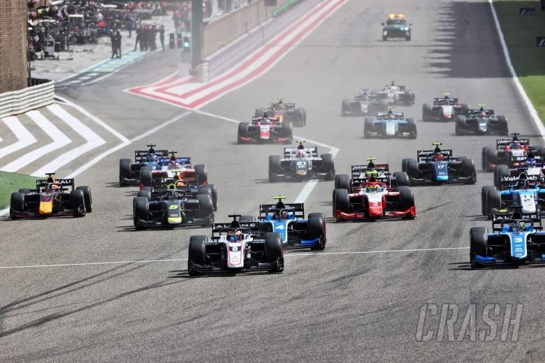 FIA Formula 2 2021 - Bahrain - Full Feature Race Results