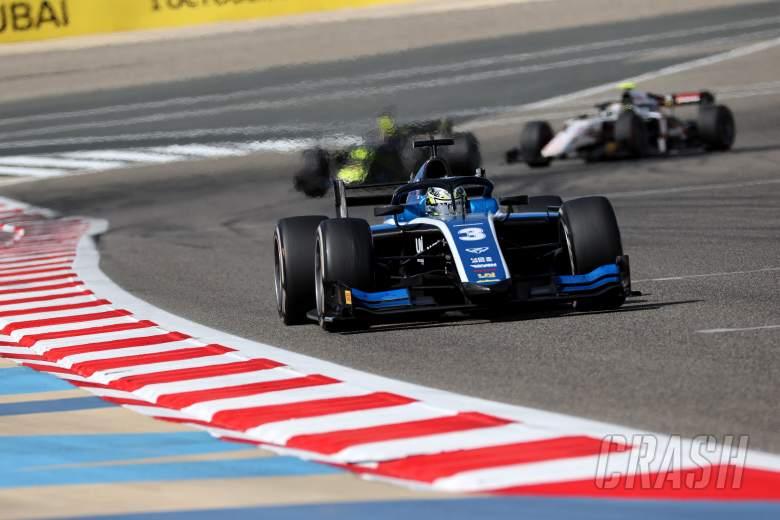Zhou converts pole into Bahrain Formula 2 feature race win