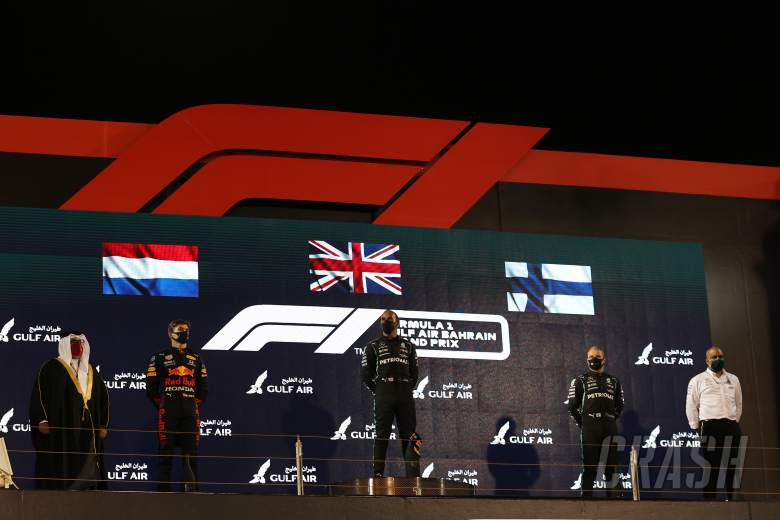 F1 World Championship points standings after the 2021 Bahrain GP