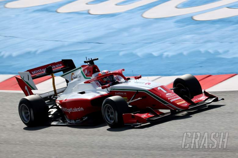 Hauger beats Doohan to first Formula 3 pole of 2021 in Barcelona