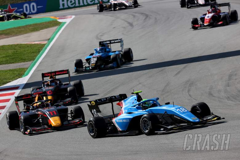FIA Formula 3 2021 - Spain - Full Sprint Race (2) Results