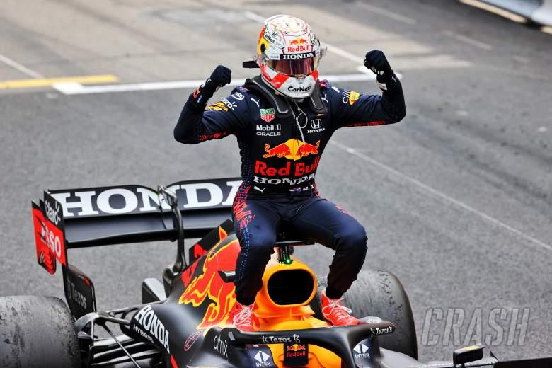 Verstappen takes F1 title lead with Monaco win, Hamilton 7th