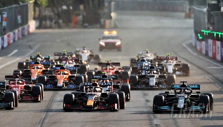 F1 GP Azerbaijan: FIA Jelaskan Alasan Restart 2 Lap Terakhir