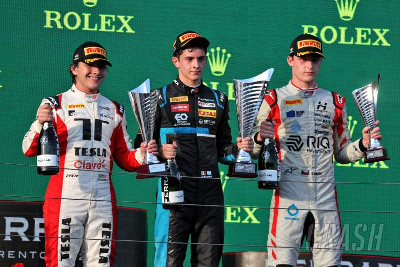 Nannini takes maiden F3 victory in second Hungary sprint race