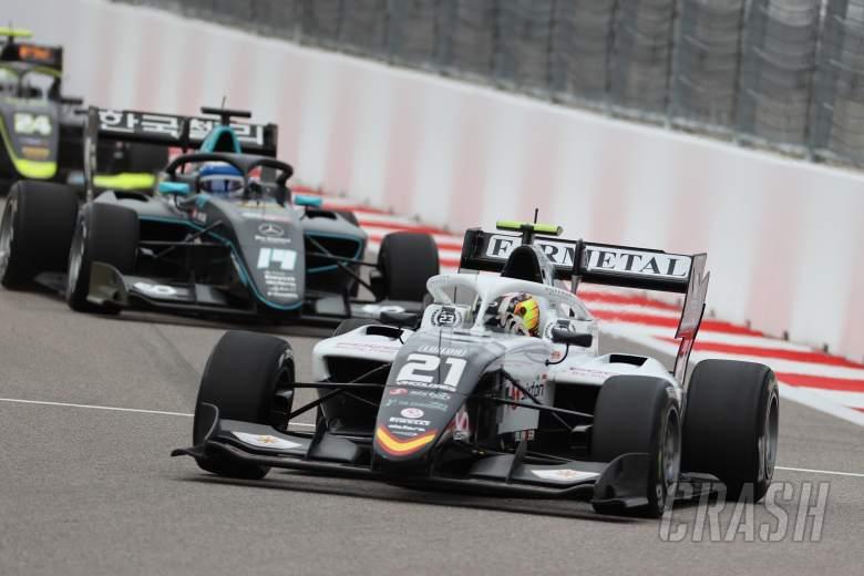 FIA Formula 3 2021 - Russia - Sprint Race (1) Results