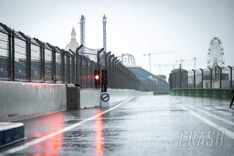 F1 cancels final practice due to heavy rain at Sochi