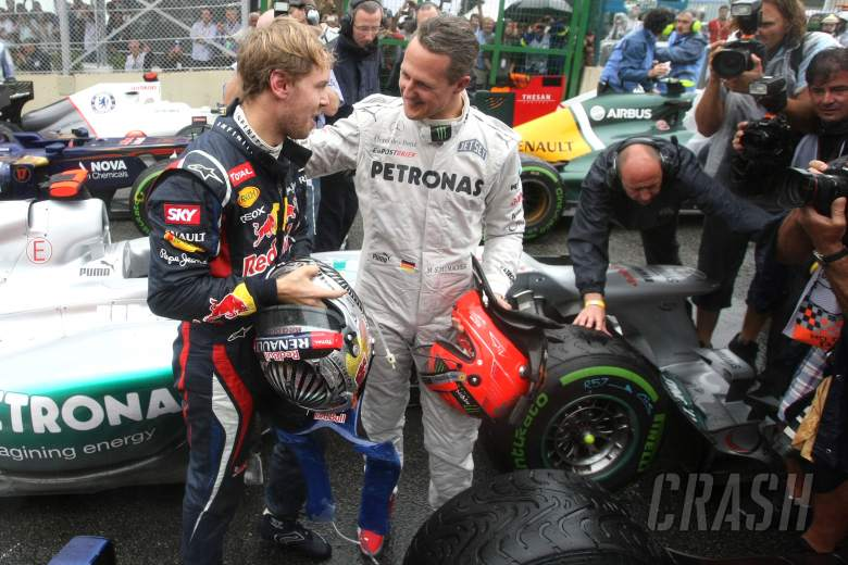 Vettel 'can't respect Hamilton enough' but Schumacher still F1's best