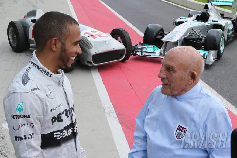 Lewis Hamilton, Stirling Moss, F1, Mercedes,
