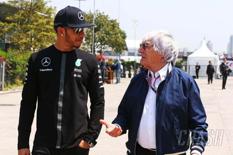 Berita F1: Ecclestone Tuduh BLM Mendompleng Nama Hamilton?