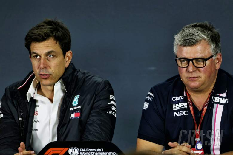 """Szafnauer """"can't see"""" Wolff role in Aston Martin F1 team"""