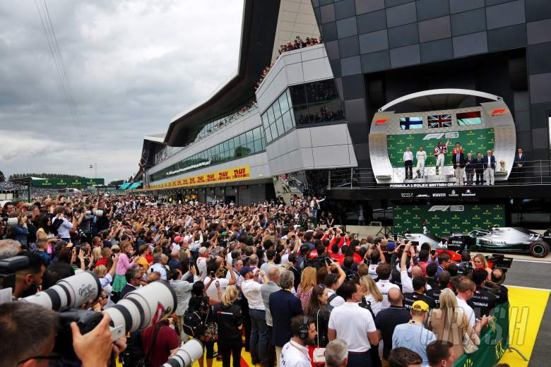 Silverstone open to hosting two consecutive F1 races