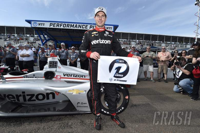 Power pips Newgarden for eighth St. Pete pole