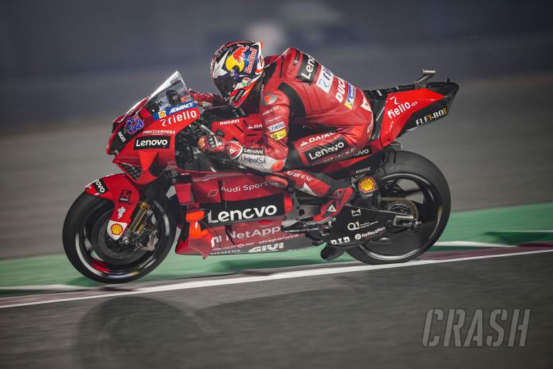 Jack Miller: 'I'm delighted with the feeling', leads Ducati one-two
