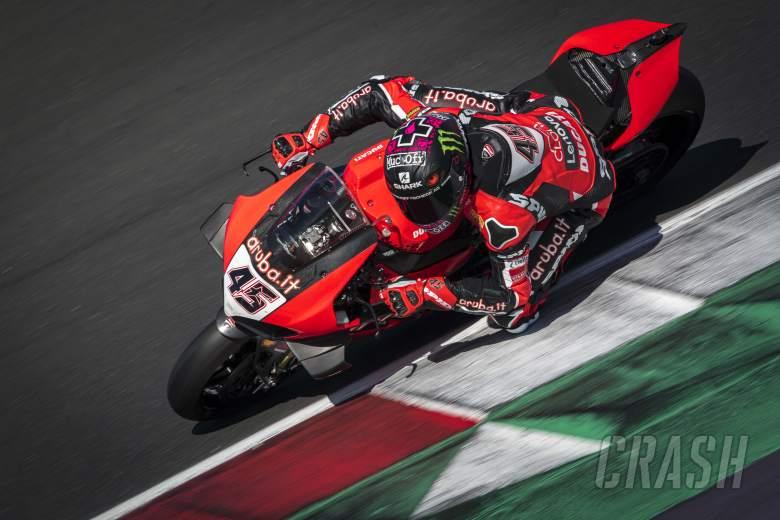 Pembalap WorldSBK Mencoba Kaliper Rem Brembo ala-MotoGP